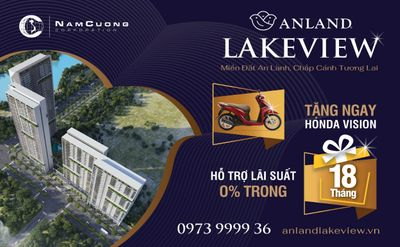 Anland Lakeview: Chính sách bán hàng hỗ trợ tài chính tối đa cho người mua  - ảnh 1