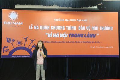 Trường đại học đầu tiên ở Hà Nội ngừng sử dụng đồ nhựa 1 lần  - ảnh 1