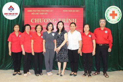Bệnh viện đa khoa An Việt khám, cấp thuốc miễn phí tại phường Phương Liệt  - ảnh 1