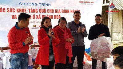 Bệnh viện Đa khoa An Việt khám, tặng quà bà con vùng sâu vùng xa tỉnh Yên Bái  - ảnh 1