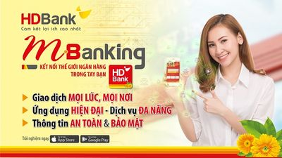 HDBank ra mắt Website mới và ứng dụng mới HDBank mBanking  - ảnh 1