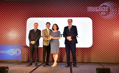 """Vietcombank nhận giải thưởng """"Ngân hàng tốt nhất Việt Nam"""" của tạp chí Euromoney  - ảnh 1"""