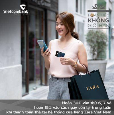 Thẻ Vietcombank Cashplus Platinum American Express Thẻ tín dụng hoàn tiền tốt nhất thị trường - ảnh 1