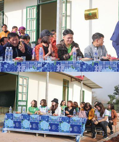 Long trọng tổ chức khánh thành công trình phòng học Thanh Mộc Hương thứ 1 tại Điện Biên  - ảnh 1
