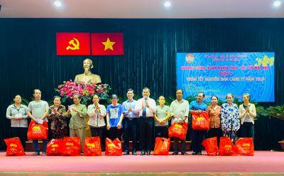 """Niềm vui """"Nước sạch học đường"""" trước thềm năm mới tại huyện Bình Đại, Bến Tre - ảnh 1"""