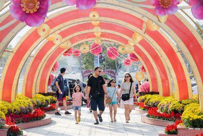 Đừng bỏ lỡ: Sắc màu lễ hội xuân Sun World - ảnh 1