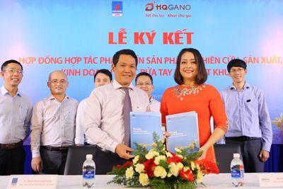 VPI và HQGANO hợp tác sản xuất nước rửa tay khô diệt khuẩn - ảnh 1