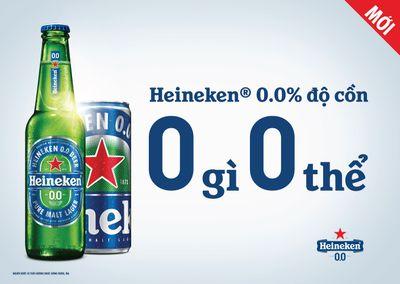 Heineken® 0.0 hiện đã có mặt tại Việt Nam: Hương vị tuyệt hảo với 0.0% độ cồn  - ảnh 1