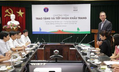 Nestlé Việt Nam ủng hộ Bộ Y tế 88.000 khẩu trang cho hoạt động chống COVID-19  - ảnh 1