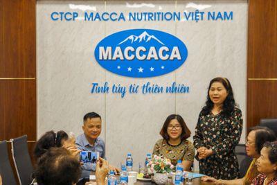 Hội đồng hương Phụ nữ Nghệ An tại Hà Nội thăm và làm việc với Công ty Macca Nutrition  - ảnh 1