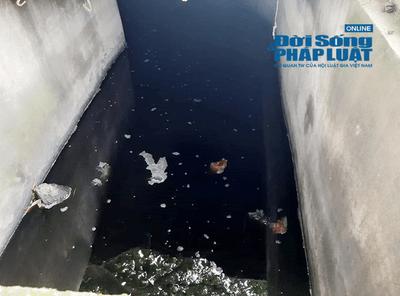 """Thanh Hóa: Khu công nghiệp Lễ Môn """"tuồn"""" nước thải ra môi trường? - ảnh 1"""