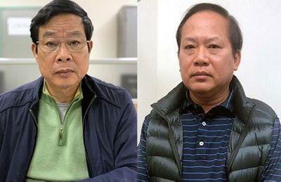 Chốt lịch xét xử 2 cựu Bộ trưởng Nguyễn Bắc Son, Trương Minh Tuấn và 12 đồng phạm - ảnh 1