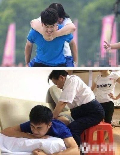 Trước Cao Dĩ Tường, nhiều sao Hoa ngữ đã gặp chấn thương nghiêm trọng khi tham gia show truyền hình - ảnh 1