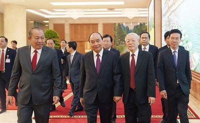 Tổng bí thư, Chủ tịch nước dự hội nghị Chính phủ với địa phương - ảnh 1