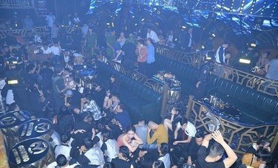 """Đồng Nai: Đột kích 2 quán bar, phát hiện hơn 100 """"dân chơi"""" dương tính với ma túy - ảnh 1"""