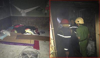 Bắc Ninh: Trung tá công an lao vào đám cháy, cứu sống bé trai bị mắc kẹt - ảnh 1