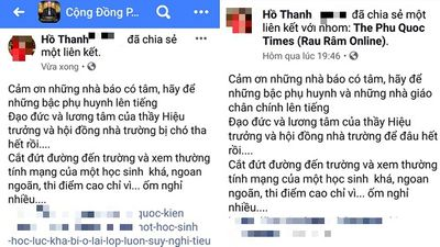 Hiệu trưởng bị Á khôi doanh nhân miệt thị trên mạng xã hội vẫn chưa nhận được lời xin lỗi - ảnh 1