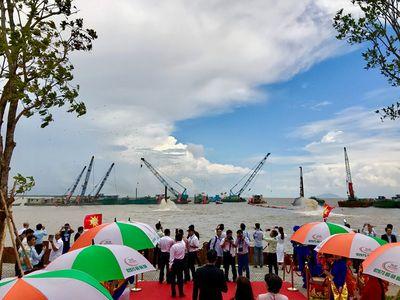 Kiên Giang khởi động dự án khu lấn biển có vốn đầu tư lên đến 8.000 tỷ đồng - ảnh 1