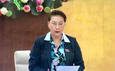 Khai mạc Phiên họp thứ 36 của Ủy ban Thường vụ Quốc hội - ảnh 1