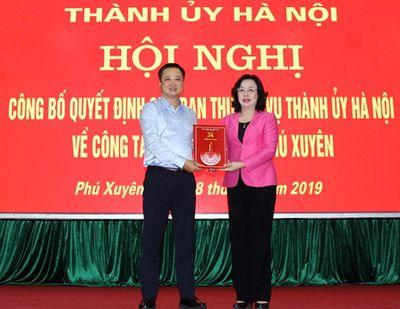 Điều động Giám đốc sở Khoa học&Công nghệ giữ chức Bí thư Huyện ủy Phú Xuyên - ảnh 1