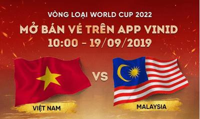 """Vé trận Việt Nam- Malaysia """"hết"""" veo sau 5 phút? - ảnh 1"""