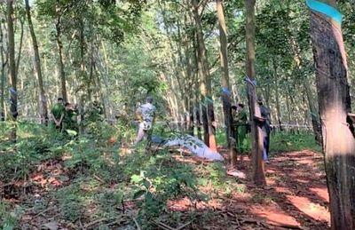 Bà Rịa - Vũng Tàu: Nghi vấn thiếu nữ 16 tuổi bị sát hại trong rừng cao su - ảnh 1