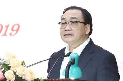 Bộ Chính trị quyết định thi hành kỷ luật cảnh cáo ông Hoàng Trung Hải - ảnh 1