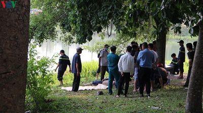 Bình Dương: Ra công viên chơi, 2 người đàn ông đuối nước tử vong  - ảnh 1
