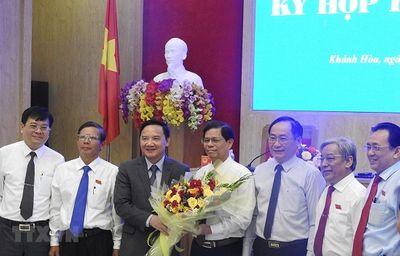 Ông Nguyễn Tấn Tuân được bầu làm Chủ tịch UBND tỉnh Khánh Hòa - ảnh 1