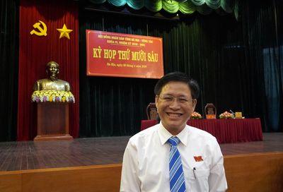 Ông Lê Ngọc Khánh giữ chức Phó Chủ tịch UBND tỉnh Bà Rịa- Vũng Tàu - ảnh 1