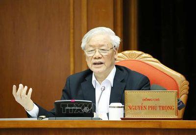 Khai mạc trọng thể Hội nghị lần thứ 12 Ban Chấp hành Trung ương Đảng Khóa XII - ảnh 1