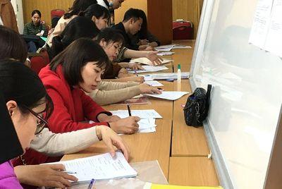 Hà Nội tổ chức thi tuyển viên chức giáo viên, nhân viên - ảnh 1