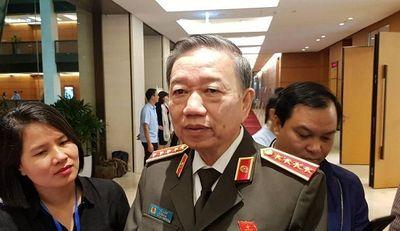 Bộ trưởng Công an Tô Lâm thông tin về vụ công ty Nhật Cường - ảnh 1