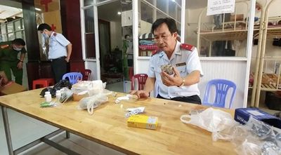 """Gần 100 cảnh sát Đồng Nai đột kích cơ sở cai nghiện """"chui"""" núp bóng cửa hàng nội thất - ảnh 1"""