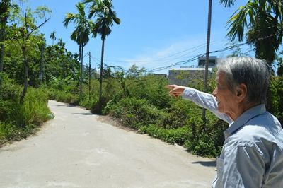 Cụ ông 86 tuổi hiến gần 200m2 đất vàng làm đường cho bà con - ảnh 1