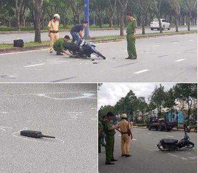 Vụ Thiếu tá CSGT bị tông trọng thương: Người lái xe máy có nồng độ cồn cao - ảnh 1