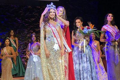 Cận cảnh nhan sắc tân Hoa hậu Hoàn vũ Canada, đối thủ nặng ký của Hoàng Thùy - ảnh 1