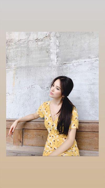 Sau ly hôn, Song Hye Kyo trang điểm đẹp lạ làm người hâm mộ khen ngợi hết lời - ảnh 1