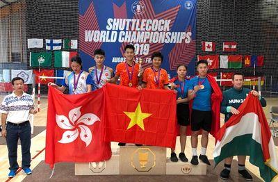 Thắng Trung Quốc, Việt Nam nhất toàn đoàn Giải vô địch đá cầu thế giới - ảnh 1