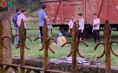 Băng qua đường sắt lúc say xỉn, người đàn ông bị tàu hoả đâm tử vong - ảnh 1