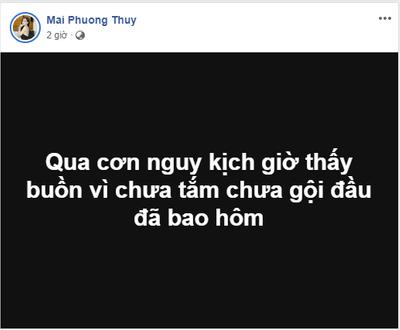 Hoa hậu Mai Phương Thúy bất ngờ nhập viện khiến nhiều người lo lắng - ảnh 1