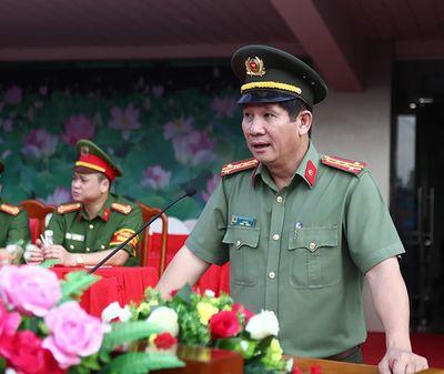 Cách tất cả chức vụ trong Đảng của Giám đốc Công an Đồng Nai Huỳnh Tiến Mạnh - ảnh 1