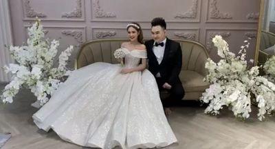 Lộ ảnh cưới của streamer giàu nhất Việt Nam với cô dâu kém 13 tuổi - ảnh 1