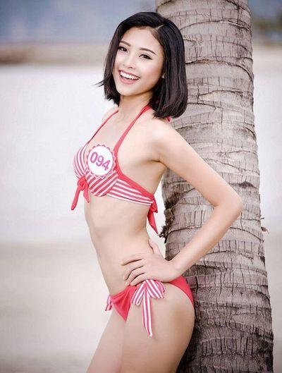Nhan sắc của người đẹp biển đang dẫn đầu Hoa hậu Hoàn vũ Việt Nam 2019 - ảnh 1