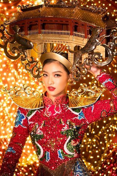 Tin tức giải trí mới nhất ngày 21/10: Kiều Loan quyết giật giải Miss Grand với quốc phục phát sáng - ảnh 1