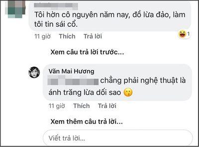 """Văn Mai Hương: """"Chẳng phải nghệ thuật là ánh trăng lừa dối sao"""" - ảnh 1"""