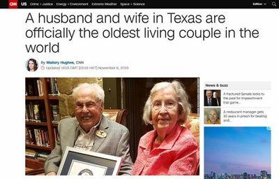 Cặp vợ chồng già nhất thế giới hạnh phúc kỷ niệm 80 năm ngày cưới - ảnh 1