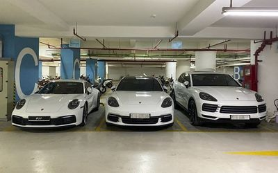 Vợ chồng Cường Đô La dạo phố bằng siêu xe Porsche 911 Carrera S giá gần 8 tỷ - ảnh 1