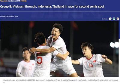 AFC bất ngờ khẳng định U22 Việt Nam đã ghi tên mình vào vòng bán kết SEA Games 30 - ảnh 1