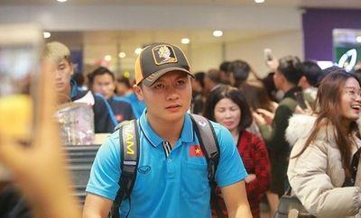 Tin tức thể thao mới nóng nhất ngày 18/1/2020: U23 Việt Nam được chào đón khi về đến Nội Bài - ảnh 1